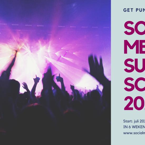 Social Media Summer School